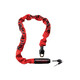Kryptonite Keeper 785 Integrated Chain lucchetto per bici rosso